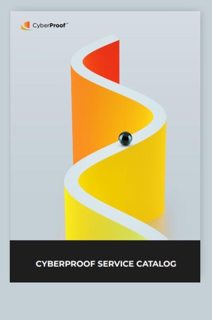Service Catalogue