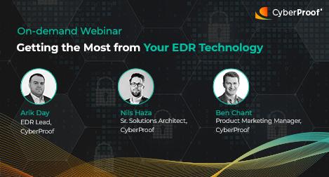 CTA para Cómo sacar el máximo partido para tu tecnología EDR