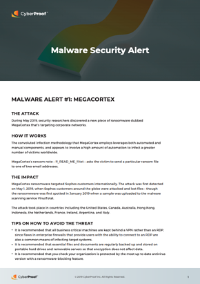 malware security alert