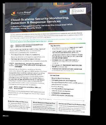 Microsoft CyberProof Partnership_2